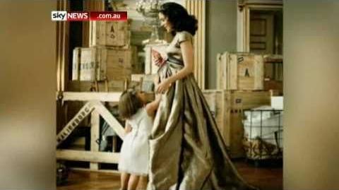 Princess Mary poses for German Vogue 2010 Sky.flv