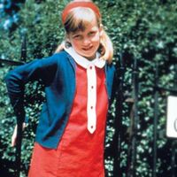 Lady Diana as a child