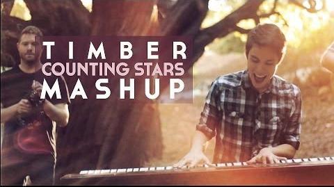 Timber Counting Stars MASHUP (Ke$ha OneRepublic) - Sam Tsui