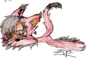 The Demon cat baby