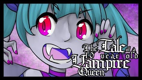 "Hatsune Miku ""The Tale Of A 10 Year Old Vampire Queen"" Original Song"
