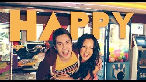 Happy (Pharrell) - Sam Tsui & Sariah Cover
