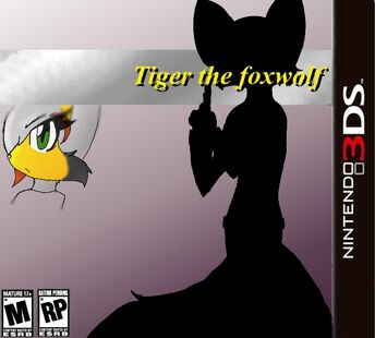 Tiger The Foxwolf -game cover-