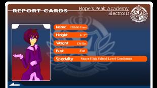 Hibiki Fuse's Report Card