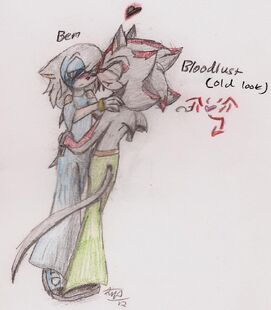 Ben -in a dress- and Scythe -old look-