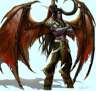 Demon hunter illidan stormrage by siakim-d3bghq6