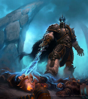 Wow tcg lich king by namesjames-d3af4d7