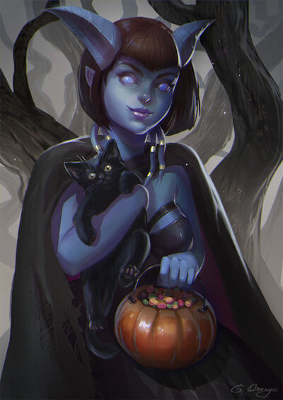 Halloween is coming by applesin-d9dafml
