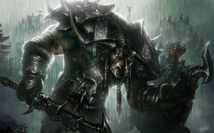 Tauren warrior by tamplierpainter-d4ykiwg