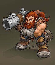 Dwarf rifleman by LOLONGX