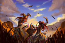 Dance of the barrens by athena erocith