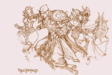 World of warcraft pencils by paulobarrios-d5rk24g