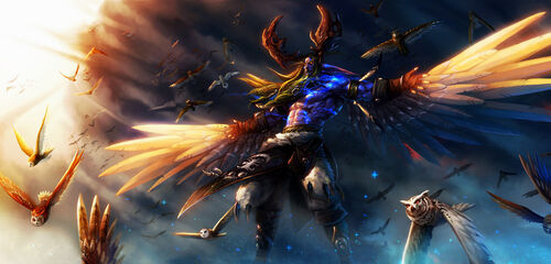 Malfurion stormrage by siakim-d3dhf5m