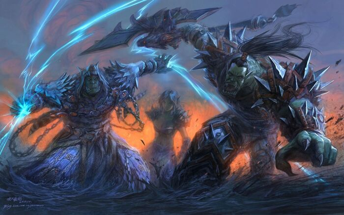 Video games world of warcraft fantasy art armor orcs artwork yaorenwo 1440x900 wallpaper Wallpaper 2560x1600 www.wallpaperswa.com (1)