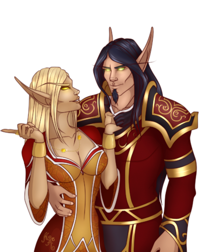 Commission naiya and isirion by mischiart-d95b6hl