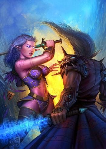 Warcraft cover battle by prdart