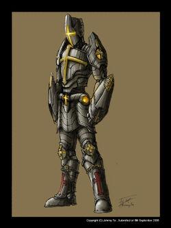 Angelic Crusader by johnnytai