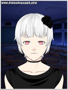 Cerise black flower