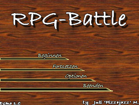 RPG-Battle Titescreen