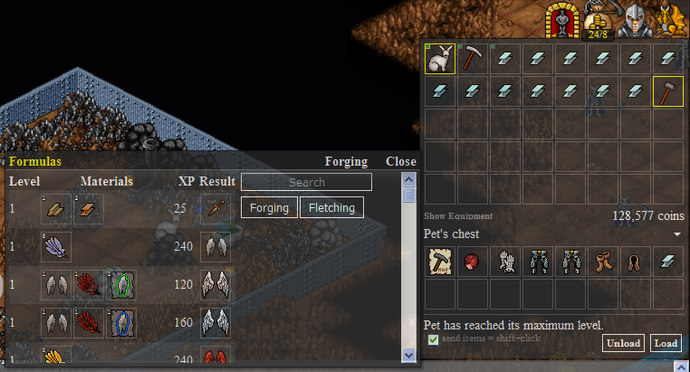 Anvil Forging Regular Interface