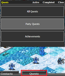 Party Quests Access