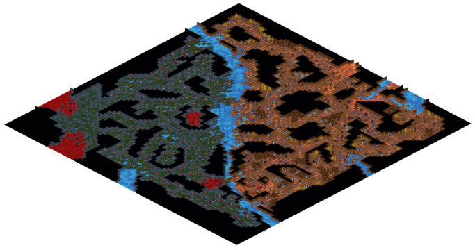 Map39 No Man's Dungeon