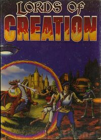 Lords of Creation RPG Front Cover