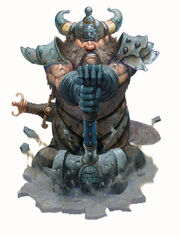 Hammer of Moradin by Wayne England PGtF DnD3 2004