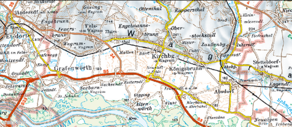 Kirchberg-Umgebung