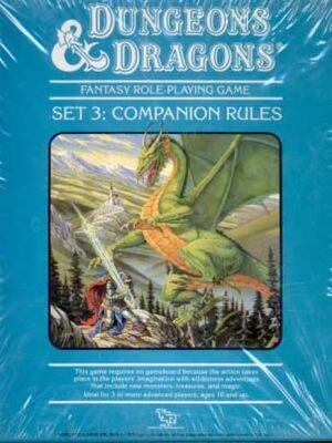 DnD Mentzer Companion Set