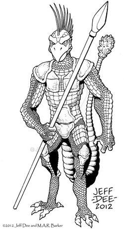 JeffDee Shen Warrior