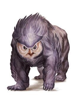 Wallpaper Owlbear