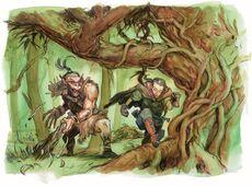 Kaldair and Vaprak by Vince Locke