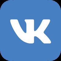 VK Blue Logo transparent