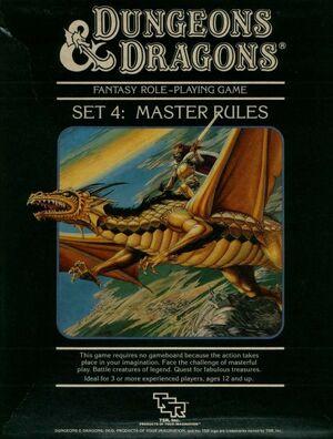 DnD Gygax Mentzer Master Set