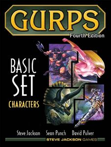 GURPS-Basic Set Characters 4 edition