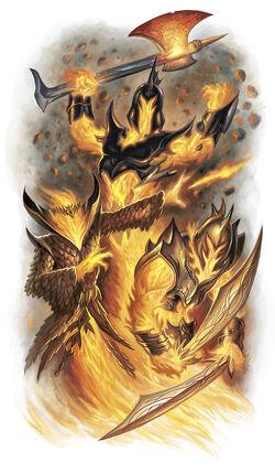 Fire Archon DnD4 MM