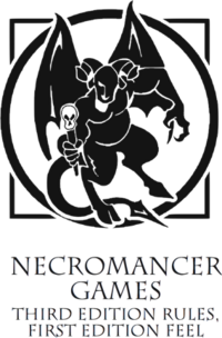Necromancer Games Orkus Logo