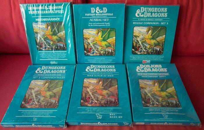 BD&D Companion Set переводы