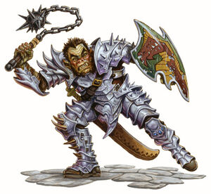 Half-orc Fighter-Races-of-Destiny DD35