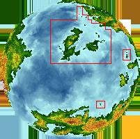 Eastern islandsf