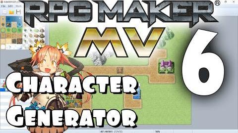 RPG Maker MV Tutorial 6 - The Character Generator
