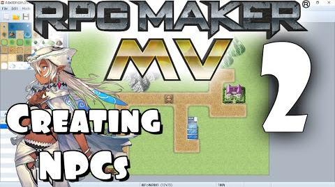 RPG Maker MV Tutorial 2 - Creating an NPC!