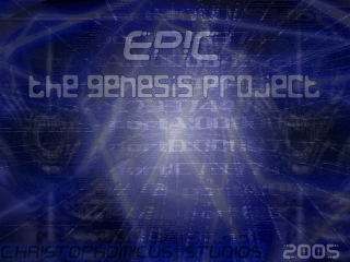The Genesis Project Title Screen