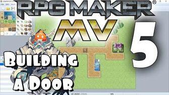 RPG Maker MV Tutorial 5 - Building a Door!