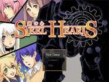 Steel Hearts Title Screen