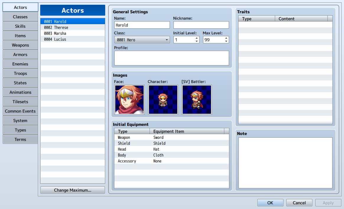 Database | RPG Maker Wiki | FANDOM powered by Wikia