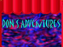 Don's Adventures Title Screen