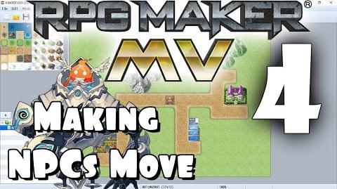 RPG Maker MV Tutorial 4 - Making NPCs Move!