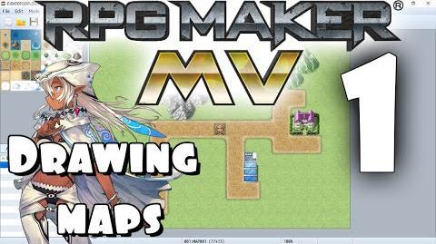 RPG Maker MV Tutorial 1 - Drawing The Map!